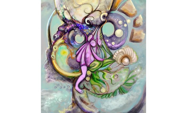 psychic dream illustration